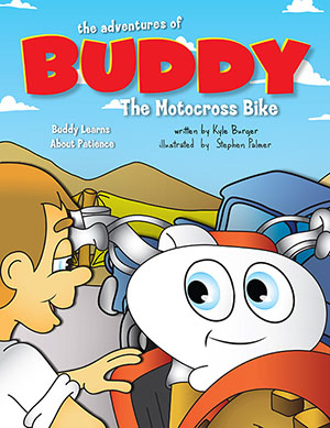Buddy Learns About Patience - Children's Motocross Book About Patience