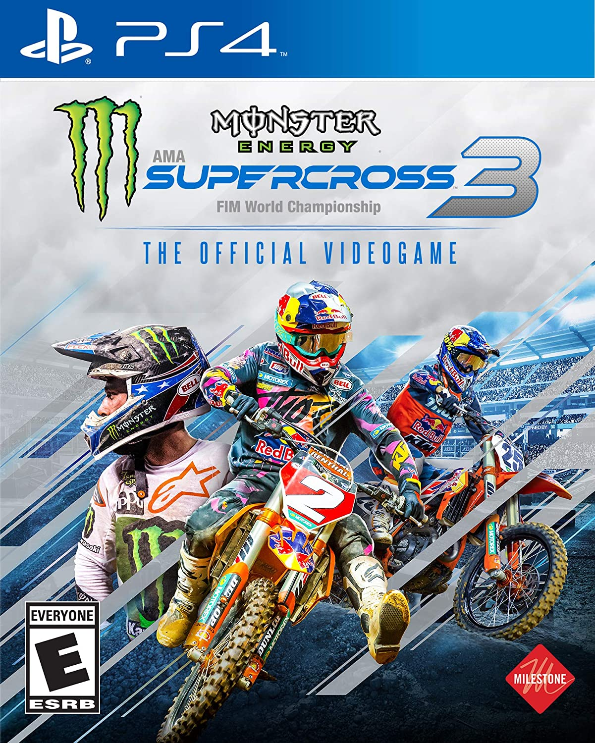Supercross the Game 3 - Playstation (PS) 4